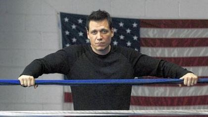 "Holt McCallany Holt McCallany stars as a one-time champion boxer now struggling to support his family in the new FX series ""Lights Out,"" premiering Tuesday."
