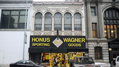 Honus Wagner The Honus Wagner Sporting Goods store on Forbes Avenue is closing after 93 years in business Downtown.