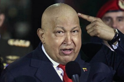 hugo chavez chemo In this Oct. 11, 2011, file photo, Venezuela's President Hugo Chavez points at his head to show that his hair had started to grow back after a round of chemotherapy.