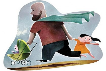 "I'm just a dad, not a hero ""The default thinking remains: Moms are the primary caregivers, whether they work outside of the home or they don't. Well, it's not the default in my house,"" Peter Mountford says."