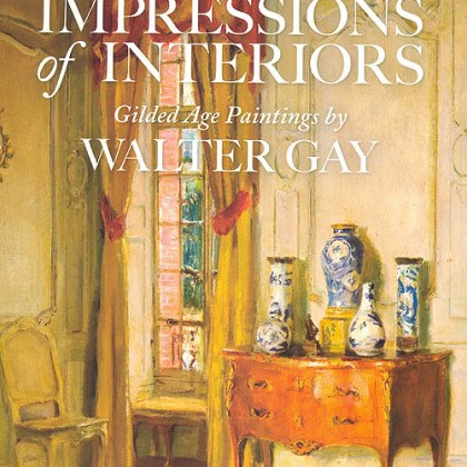 """Impressions"" catalog ""Impressions of Interiors: Gilded Age Paintings by Walter Gay"" is the result of a four-year ""labor of love,"" says Frick director Bill Bodine."