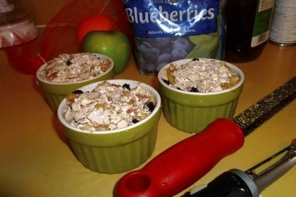 Individual Apple Cobblers Individual Apple Cobblers.