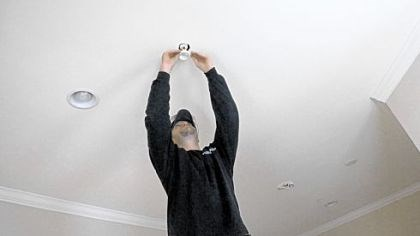 Installing a sprinkler Tyler Baldwin of Metropolitan Fire Protection installs a sprinkler in a customer's home. Home builders in Pennsylvania must now install sprinklers in single-family homes under a change in the building code that took effect Jan. 1.
