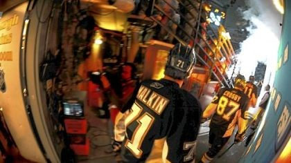 It begins again Wasn't it just yesterday that the Penguins raised Lord Stanley's Cup? It wasn't, but it seems like it.