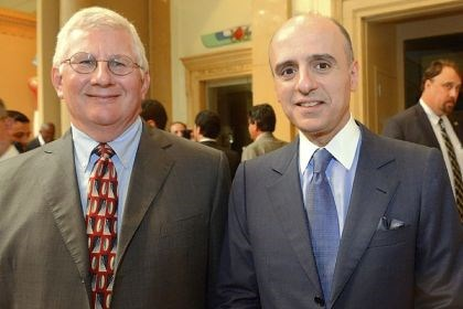 Jack Barbour with Ambassador Adel Al-Jubeir Jack Barbour with Ambassador Adel Al-Jubeir.