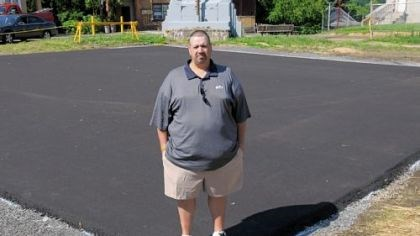 Jack DeFillip Stowe resident Jack DeFillip, who won the money in a Procter & Gamble promotion, donated $10,000 to install a half-court basketball court at Norwood Park.