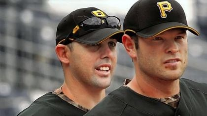 Jack Wilson, left, and Freddy Sanchez For at least another week, most of the Pirates talk will continue to center on Jack Wilson, left, and Freddy Sanchez.