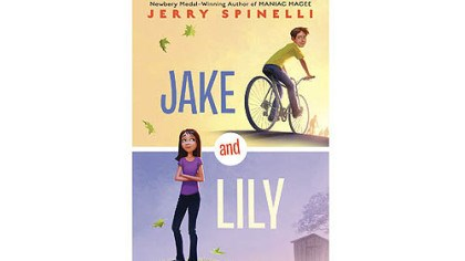 """Jake and Lily"" Jerry Spinelli focuses on the close bond between twin siblings in ""Jake and Lily."""