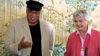 "James Earl Jones and Angela Lansbury James Earl Jones and Angela Lansbury discuss their roles in the play ""Driving Miss Daisy"" in Sydney, Australia."