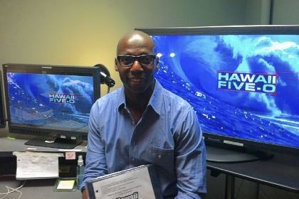 "James Wilcox, editor/director ""CSI: Miami"" James Wilcox, who grew up in the Hill District and graduated from Schenley High School in 1977, sits in the ""Hawaii Five-O"" editing room."