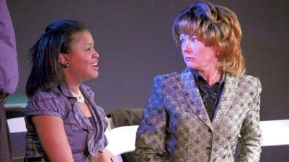 "Jamilah Muhammed, left, and Lissa Brennan Jamilah Muhammed, left, and Lissa Brennan in ""Redneck Revenge,"" written by Ray Werner and part of the Theatre Festival in Black & White."