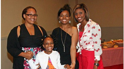 Jasmine Walton, Monica Chatman, Brittny McGraw and Jasmine Walton, Monica Chatman, Brittny McGraw and