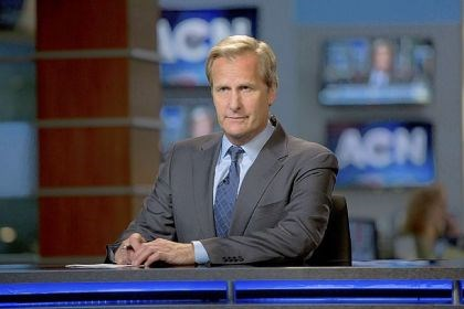 "Jeff Daniels in ""The Newsroom"" Jeff Daniels is back at the anchor desk for HBO's ""The Newsroom."""
