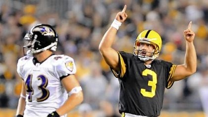 Jeff Reed Steelers kicker Jeff Reed has made 77 of 87 field goal attempts over the past three seasons.