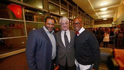 Jerome Bettis, Dick Hoak and Willie Parker Jerome Bettis, Dick Hoak and Willie Parker.