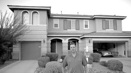 Jim Tierney was caught in the housing collapse Like thousands of other Las Vegas residents, Jim Tierney was caught in the housing collapse. He bought this home in the Mountain's Edge subdivision in 2007 for $425,000. Today, he is trying to sell it for $214,000.