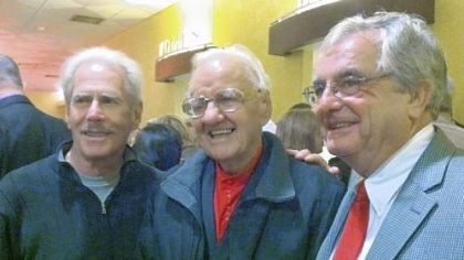 "Jimmy Beaumont, Porky Chedwick and Wally Lester Skyliners Jimmy Beaumont, left, and Wally Lester flank radio legend Porky Chedwick at the premiere of ""Since I Don't Have You"" Thursday at SouthSide Works Cinemas."