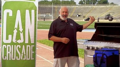 Joe Cahn Joe Cahn, the Commissioner of Tailgating, is heading to Pittsburgh for the fifth stop of the Can Crusade, a 17-city tour of NFL stadiums to remind fans that using aluminum cans during a tailgate is the smartest choice.