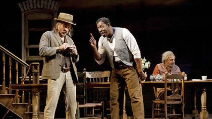 """Joe Turner"" 3 Arliss Howard, Ernie Hudson and Roger Robinson in a scene from ""Joe Turner's Come and Gone."""