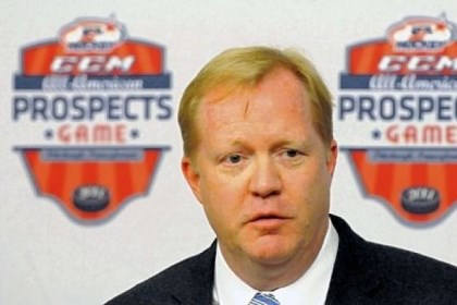 Johannson Jim Johannson, Assistant Executive Director of Hockey operations for USA Hockey, answers questions after the organization announced Pittsburgh will host the second annual CCM/USA Hockey All-American Prospects Game at the Consol Energy Center on Sept. 26.