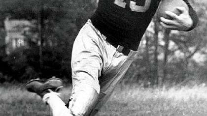 "Johhny ""Blood"" McNally Packers and Steelers Hall of Famer Johnny ""Blood"" McNally."