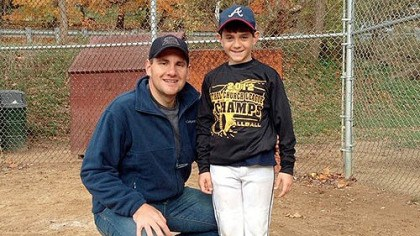 John and son John Pikras Jr. shown with his son, Alex.