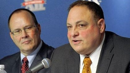 "John Marinatto John Marinatto, Big East commissioner: ""A contract is a contract."""