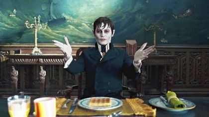 "Johnny Depp as Barnabas Collins Johnny Depp sinks his teeth into the role of Barnabas Collins in ""Dark Shadows."""