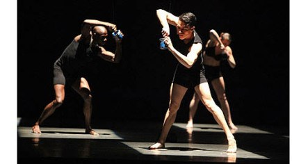 "JOLT Giordano Dance Chicago in ""JOLT."" The company will perform at Byham Theater, Downtown, as part of the World Jazz Dance Festival, a component of the annual Jazz Dance World Congress."