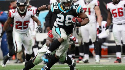 Jonathan Stewart Panthers running back Jonathan Stewart has rushed for 668 yards this season.