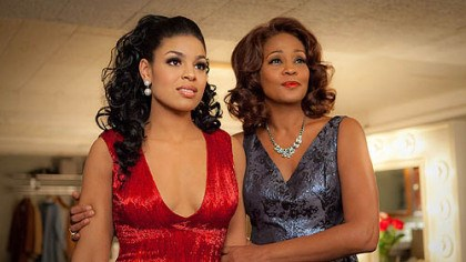 "Jordin Sparks and Whitney Houston Jordin Sparks and Whitney Houston in ""Sparkle."""
