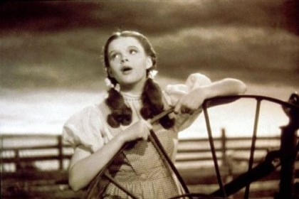 "Judy Garland Judy Garland, as Dorothy Gale, sings ""Over the Rainbow,"" in a scene from the classic 1939 film ""The Wizard of Oz."""