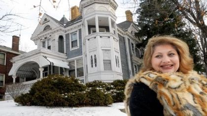Julia Tomasic of the Carrick-Overbrook Historical Society Julia Tomasic of the Carrick-Overbrook Historical Society is trying to save the last great Victorian home in Carrick, at 1425 Brownsville Road, by nominating it for historic status.