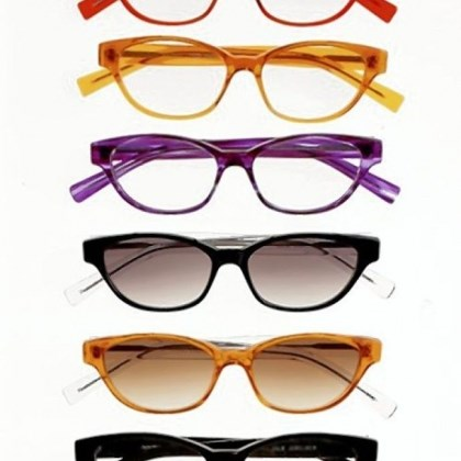 Julie Jubelirer eyeglass styles Julie Jubelirer eyeglass styles from the Norman Childs eyewear collection, $365.