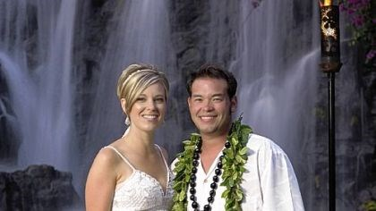 Kate and Jon Gosselin Kate and Jon Gosselin of reality TV fame.