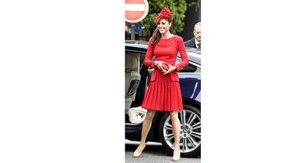 Kate Middleton in Alexander McQueen Kate Middleton in Alexander McQueen during Queen Elizabeth's diamond jubilee celebration last month. Expense so far this year for her work-related clothes: more than $50,000.