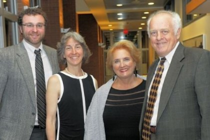 Kevin Heher, Rita McGill, Joanne Spink and John Heher From left: Kevin Heher, Rita McGill, Joanne Spink and John Heher.