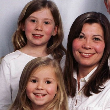 Kimberly, Brenna and Mikaela Griffith Kimberly Griffith, 45, of Plum and her daughters Brenna, 12, and Mikaela, 8.
