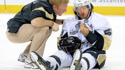Kris Letang suffered a broken nose Kris Letang suffered a broken nose on a hit by Max Pacioretty Saturday in Montreal.