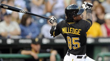 Lastings Milledge Lastings Miledge will open the second half of the season as the Pirates' starting right fielder.