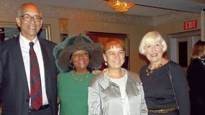 Laurence Glasco, Peggy B. Harris, Jessie B. Ramey and Ingrid Glasco Historian and Professor Laurence Glasco, Peggy B. Harris (President and CEO of Three Rivers Youth) Jessie B. Ramey (author and visiting professor at University of Pittsburgh) and Mrs. Ingrid Glasco.