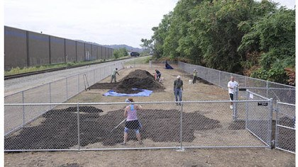 Lawrenceville dog run The Lawrenceville dog run under the 40th Street Bridge will be opened with a ceremony at 3:30 p.m. Saturday.