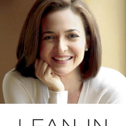 """Lean In"" by Sheryl Sandberg."