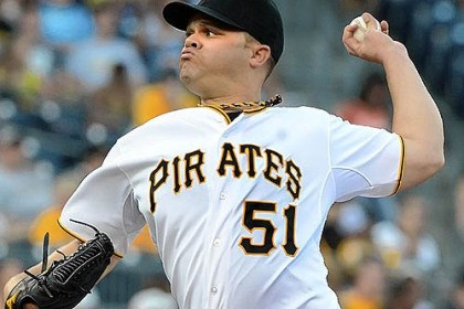 Left-handed starter Wandy Rodriguez Left-handed starter Wandy Rodriguez will not be a part of the Pirates' chase for a division title.