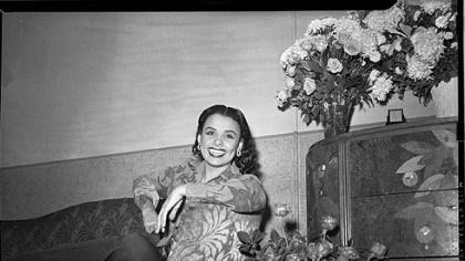 Lena Horne Daughter Lena Horne Circa 1944 Lena