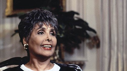 Lena Horne June 1995 file photo of singer and actress Lena Horne.