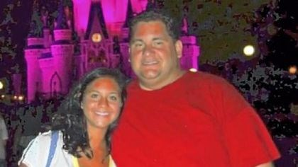 Lost 1 Before: John Pikras Jr. and his daughter, Samantha.