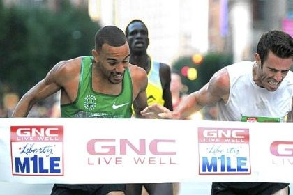 macklinchaffee Macklin Chaffee edges out Jordan McNamara to win the Men's Pro GNC Live Well Liberty Mile.