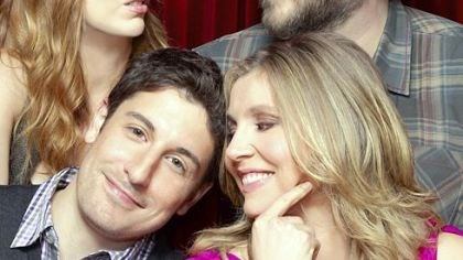 """Mad Love"" Clockwise from bottom left: Jason Biggs, Judy Greer, Tyler Labine and Sarah Chalke play a couple of couples on ""Mad Love,"" premiering tonight on CBS."