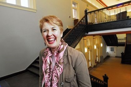 "Maggie Forbes Maggie Forbes is back as executive director of the Andrew Carnegie Free Library and Music Hall. Monday was her first day. ""I love the place. It's where my heart lies,"" she said."